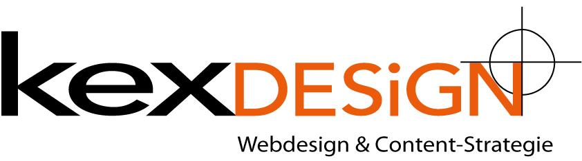 Logo kexdesign: wir machen Webdesign und Content-strategien