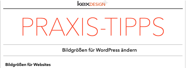 Bildgrößen in WordPress anpassen Ladezeiten optimieren