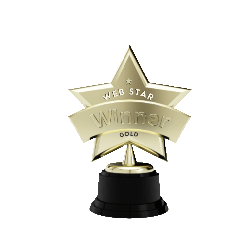 Gewinner Webstar Award in Gold