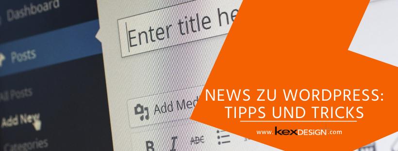 WordPress-Tipps